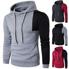 Fashion Men Long Sleeve Hoodie Sweatshirt Hooded Cotton Coat Jumper Pullover New