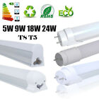 4/10x T8 G13 9W 18W 24W 2ft 4ft LED SMD Light Tube Fluorescent Lamp Replacement