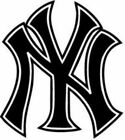New York Yankees  MLB Team Logo Decal Stickers Baseball on Ebay