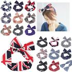 Wired Rockabilly Bunny Rabbit Ears Wrap Scarf Tie Hairband Headband