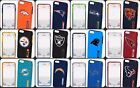 iPhone 6 Plus 6s Plus 5.5 NFL Football Hard Impact Dual Hybrid TPU Case Cover