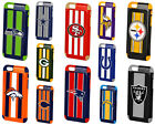 Apple iPhone 6 6s Plus 4.7 NFL Football Hard Dual Hybrid TPU Case Cover