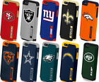 iPhone 5 5S SE NFL Football Hard Impact Dual Hybrid TPU Rubber Case Cover