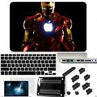 """4in1 Iron Man Painted Hard Case Key Anti Dust For Macbook Pro Air 11"""" 13"""" 15"""""""
