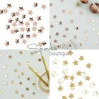 METALLIC STAR TABLE CONFETTI -Christmas Scatter Decoration-Party- RANGE IN SHOP