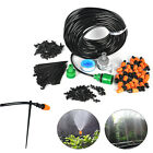 25M DIY Irrigation System Water Timer Auto/Manual control Sprinkler Watering Kit