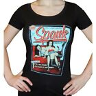 Bettie Page Women's Spank Magazine T-Shirt Rockabilly Pin Up Vintage Pin Up