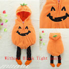 Baby Toddler Boy Girl Pumpkin Halloween Costume Fancy Dress Party Outfits 3-18M
