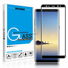 3D Panzerglas 9H Curved Full Cover Tempered Glassfolie f. Samsung S6/7 Note8 S8