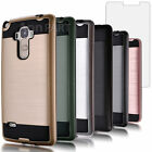 Hybrid Shockproof Hard Protective Case Cover + Tempered Glass Screen Protector