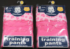 GERBER TODDLER GIRL'S POTTY TRAINING PANTS WITH TERRY & PEVA LINING 4-PACK 2T/3T
