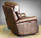Barcalounger Pushback Top Grain leather recliner Wall Hugger Lounge Chair Lochmr