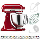 KitchenAid Artisan Series Refurbished 5 Qt Tilt Head Stand Mixer Empire Red
