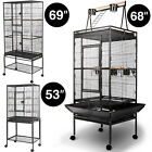 "Large Parrot Bird Cage Pet Supplies Finch Cage Macaw Cockatoo 36""50""53""60""68""69"""
