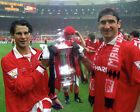 ERIC CANTONA 26 WITH RYAN GIGGS (MANCHESTER UNITED) MUGS AND PHOTO PRINTS