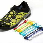 Elastic No-Tie Quick Lock Shoelaces Shoestring Sport Running Shoes Laces String