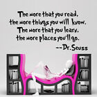 famous saying - Dr. Seuss Famous Saying Vinyl Wall Stickers Quotes Study Room Decal Decors