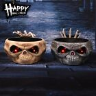 Press Induction Sugar Bowl Electric Toy Skull Luminous Decoration Ghost Hand