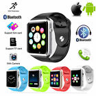 A1 MTK6261D Smart Wrist Watch Bluetooth GSM Phone For Android iOS Smart Phone