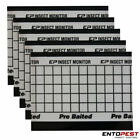 Entopest Pre-Baited Crawling Insect Monitoring Sticky Pads for Trap Holders