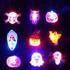 Halloween LED Light Up Badge/Brooch Pins Party Concert Favors Holiday Gifts 3Pcs
