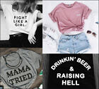New Women Men Short sleeve T-shirts Tumblr Tshirts Funny Tees Tops Gifts Present