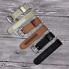 Leather Nylon Wristwatch Bands Strap For Apple Watch Iwatch Series 1 2 3 38 42mm