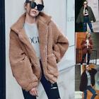 Ladies Winter Warm Coat Jacket Thick Parka Fit Long Overcoat Outwear Zip Fashion