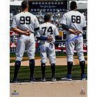 Dellin Betances/Ronald Torreyes Dual Signed Standing for National Anthem w/ A...