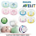 Avent Infant Orthodontic Extra Freeflow Dummy Pacifier Contemporary Baby Soother