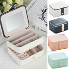 jewelry cases travel - Portable Travel Jewelry Box Organizer Jewellery Case Storage Christmas Girl Gift