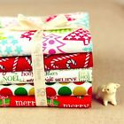 5FQs Christmas Cotton Fabric | Red Green | Fat Quarters Bundle | Xmas Trees Gift