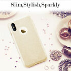 TPU Girl Bling Crystal Shockproof Silicone Phone Case Cover For Apple iPhone X