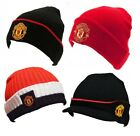 Manchester United FC Official Hat Selection Beanie Bronx Black Red Adult & Kids