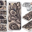 Shockproof Thin Soft Silicone Rubber TPU Case Gel Skin Cover For iPhone 7 8 Plus