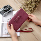 Women Lady PU Leather Wallet Purse Long Card Holder Clutch Box Bag Phone Handbag