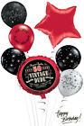 50th Birthday Balloon Bouquet Vintage Dude Adult Party Decorations