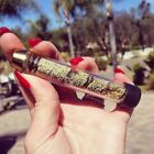 Free Shipping 7pipe Twisty Glass Blunt Pipe kit Twisty High Tech Dry herb Gift