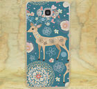 Beautiful Christmas Deer Style Hard Case Cover For iPhone 5S SE 6 7 8 Samsung