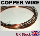 Copper Wire  Various Gauges,   Polyurethane Enamelled  Non-Tarnishing - UK Stock