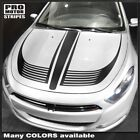 Dodge Dart 2013-2018 Hood Accent Stripes Decals (Choose Color) $78.79 CAD on eBay