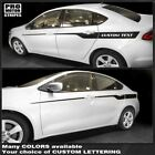 Dodge Dart 2013-2018 Javelin Side Accent Stripes Decals (Choose Color) $38.5 USD on eBay