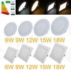 Dimmable Ceiling Kit LED Panel Light 6W 9W 12W 15W 18W  Downlight Lamps H36