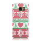 KNITTED STYLE CHRISTMAS JUMPER PATTERN CASE FOR SAMSUNG GALAXY MOBILE PHONES