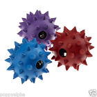 Classic Pet Products Rubber Spike Dog Puppy Play Ball with Bell Large 90mm