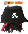 Dog Pet Puppy PIRATE HAT 2pc Costume Halloween Small Medium Large XL