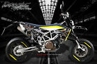 HUSQVARNA 701 SUPERMOTO / ENDURO GRAPHICS WRAP 'THE DEMONS WITHIN' DECAL KIT
