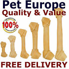 "Rawhide Dog Chew Bone Treat Knots Knotted Best Qualilty All Sizes 4.5"" To 15"""
