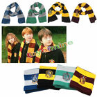 Harry Potter Gryffindor Wool Knit Scarf Wrap Warm Costume Xmas Gift