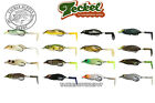 color paddles - Teckel Sprinker Frog Paddle Prop Tail Buzz Topwater Hollow Body JDM - Pick